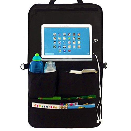Organizer per sedile auto Backseat & tablet Holder for Kids–viaggio più in Happy Silence con...
