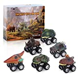 dmazing Toys for 3-6 Year Olds Boys Kids, Pull Back Dinosaur Cars Toys for 3-6 Year Old Boys Toys for 3-4 Year Olds Educational Christmas Birthday Gifts for 3-6 Boys Party Favors Stocking Stuffers