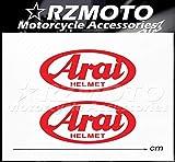 BLOUR Pegatina Nuevo RZMOTO Motocicleta Coche Ruedas Pintura Calcomanía Logo Pad Carenado Racing para Arai