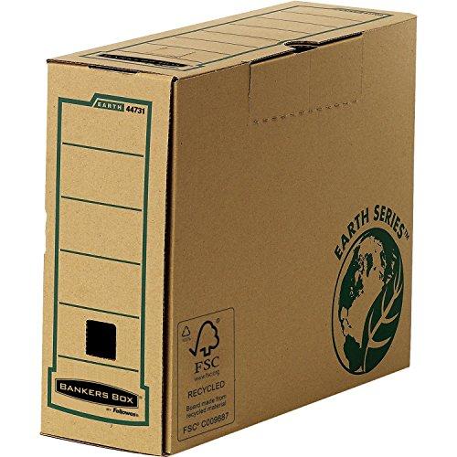 Bankers Box 4473102 Archivschachtel A4+ 100 mm, 20er Pack