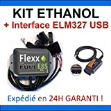 KIT Ethanol E85 + Interface de Diagnostic ELM327 USB - 4 CYLINDRES, Flex...