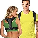 Posture Corrector for Women and Men - Adjustable Upper Back Brace for Clavicle to Support Neck, Back...