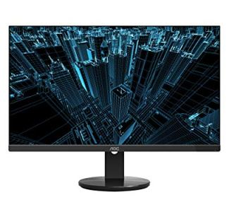 AOC U2790VQ 27' 4K 3840x2160 UHD Frameless Monitor, IPS, 5ms, 1 Billion+ Colors, DisplayPort/HDMI inputs, VESA