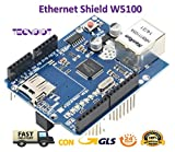 TECNOIOT Ethernet Shield W5100 for Arduino 100% Compatible |Ethernet Shield...