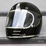 NEO VINTAGE SERIES VT-9 ブラック/M フルフェイスヘルメット SG規格 全排気量適合 原付 バイク M,ブラック
