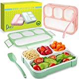 Bento Lunch Box Container For...