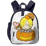 XCNGG Mochila para niños Mochila para niños Bolsos para niños JierJi Girls Kindergarten Backpacks Anime Sanji Print Kids Backpacks For School