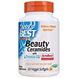 Doctor's Best Beauty Ceramides 60 Veggie Softgels, 60 unidades, Pack de 1