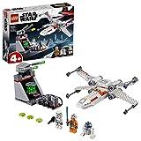 LEGO Star Wars Chasseur stellaire X-Wing de la tranchée Jeu 4 Ans et Plus, 132 Pièces 75235