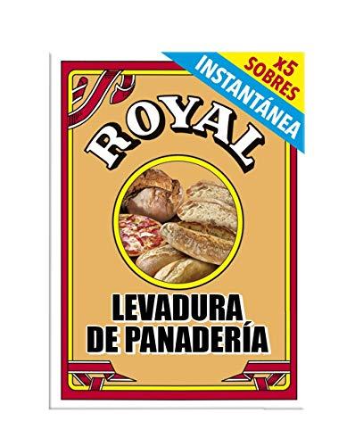 Royal Levadura de Panadería Instantánea en Formato Polvo 5