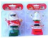 Solar Power Dancing Santa Claus & Polar Bear ~ Christmas ~ 2015 by Momentum Brands