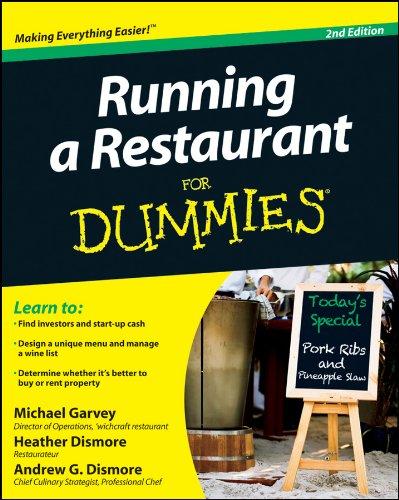 Running A Restaurant Fd 2E.: Second Edition