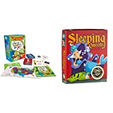 Gamewright The Scrambled States of America Game & Sleeping Queens Card Game, 79 Cards