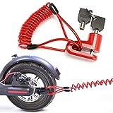 Seway Disc Brake Lock for Electric Scooter, Anti-Theft Padlock Wheel...
