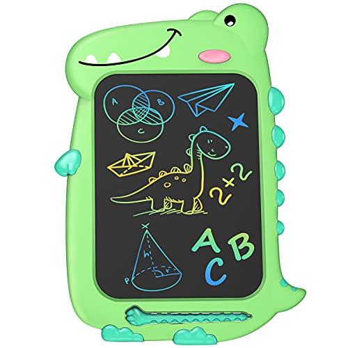 Dinosaure Enfant Jouet Garcon Fille - Cadeau Fille Garcon 3 4 5 6+ Ans Tablette Dessin Enfant 10 Inch, Creatif Calendrier De L'avent Jeux Educatif Enfant Idée Cadeau Noel Anniversaire Tableau Magique