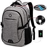 SHRRADOO Durable Waterproof Anti Theft Laptop Backpack Travel...