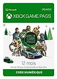 Limité à un abonnement par client, un seul code Xbox Game Pass 12 Mois activable par compte Xbox. Avec l'abonnement Xbox Game Pass, profitez d'un large catalogue de plus de 150 jeux chaque mois Plusieurs nouveaux jeux entrant chaque mois Désormais dé...