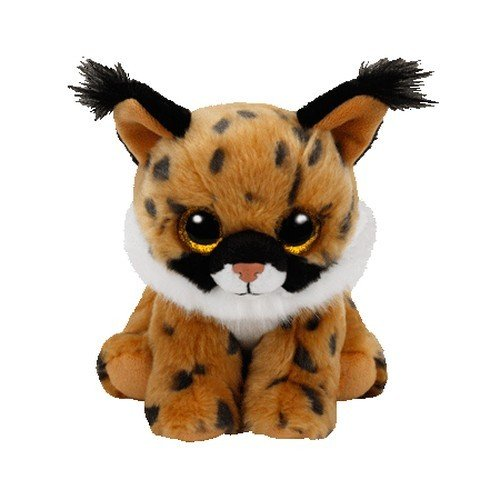Larry Lynx Beanie Babies 8 inch - Stuffed Animal by Ty (41205)