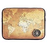 Bolsas para mapas y portátiles compatibles con tabletas Netbook de 15 ″, maletín con Funda Pringting Funda de Transporte con Funda para Bolso