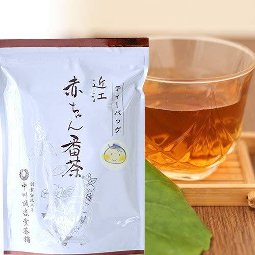 2袋セット 中川誠盛堂 赤ちゃん番茶(春茶葉限定)ティーバッグ (1袋 10g×30包入)春番茶