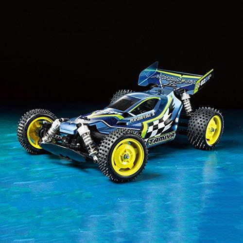 TAMIYA 1:10 RC Plasma Edge II (TT-02B) - ferngesteuertes Auto - RC-Fahrzeug - Off Road Race Buggy - RC Bausatz - Elektromotor - unlackiert - 58630