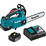 Makita XCU06T 18V LXT Lithium-Ion Brushless Cordless 10' Top Handle Chain Saw Kit (5.0Ah)