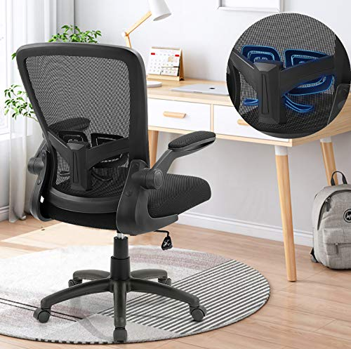 Office Chair, ZLHECTO Ergonomic Desk Chair with...
