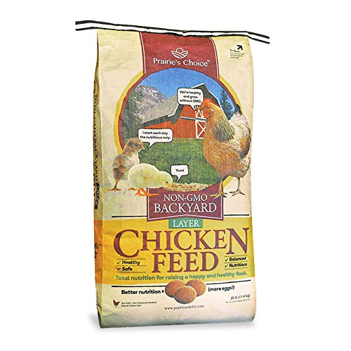 Prairie's Choice Non-GMO Backyard Chicken Feed -...