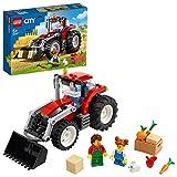 LEGO City 60287 Le tracteur Jouet, jeux de la ferme avec les figurines de...