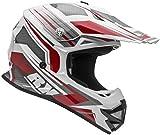 Vega Helmets VRX Advanced Off Road Motocross Dirt Bike Helmet (Red Venom Graphic, Medium)