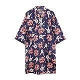 Afinder Unisexe Kimono Coton Peignoir de Bain Femme Homme Chemise Robe de...