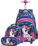 Trolley Unicorno per la scuola