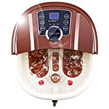 ACEVIVI Foot Spa Bath Motorized Massager with Heat, Frequency...