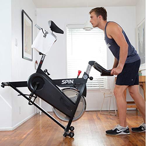 Spinner® L9 Spin Bike Belt Drive w/ Tablet Mount and Dual Water Bottle Holder 8