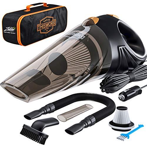 ThisWorx for TWC-01, Auto-Staubsauger, Plastik, schwarz, Car Vacuum