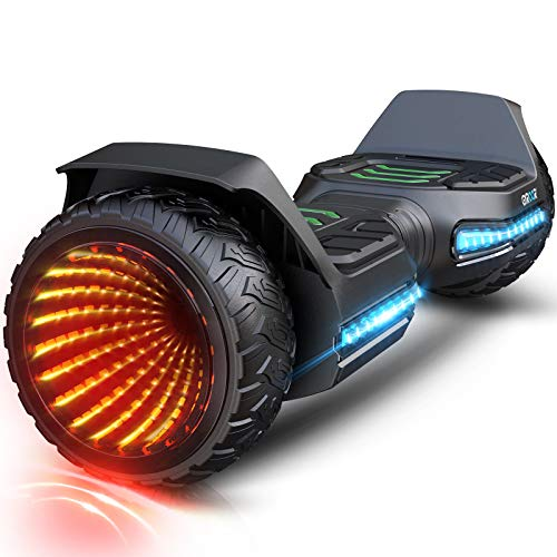 Gyroor Hoverboard Offroad All Terrain Flash Wheel Self Balancing G5 Hoverboards with Bluetooth...