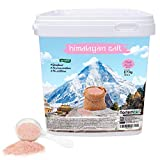 Sal rosa del himalaya Natural Fina, 100% pura