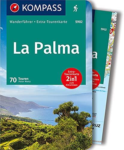 KOMPASS Wanderführer La Palma: Wanderführer mit Extra-Tourenkarte 1:56000, 70 Touren, GPX-Daten zum Download.
