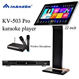 2020 New Type InAndon KV-503 Pro Karaoke Player Intelligent voice keying machine online movie dual system coexistence real-time score The newest stytle (KV-503 Pro+8TB HD With 22' Touch Screen