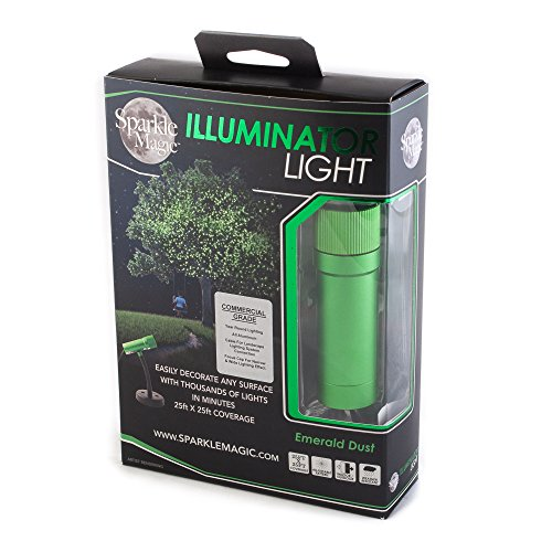 Sparkle Magic Green Commercial Grade Laser Light, Landscape Laser...
