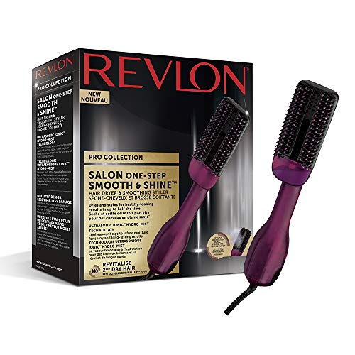 Revlon Pro Collection Salon One-Step Smooth & Shine - Secador y Alisadora de Pelo