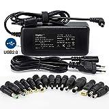 Sunydeal Chargeur Adaptateur Secteur universel 15V 16V 18.5V 19V 20V 90W...