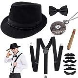 SPECOOL Années 1920 Hommes Déguisements Accessoires, Flapper Gangster...