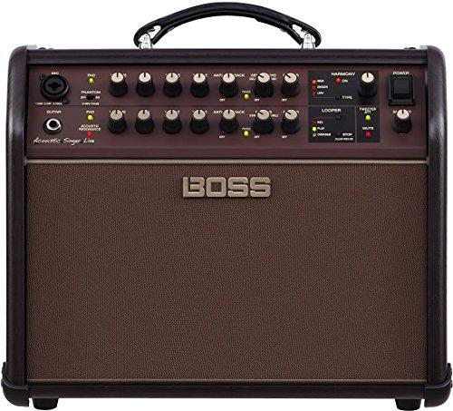 Boss ACS-LIVE Acoustic Singer Live Acoustic Amplifier w/Bonus Strukture Instrument Cable SC186W & LuluRock Picks (x3) 761294509616
