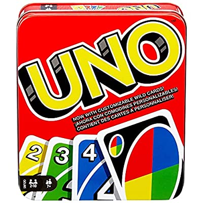 UNO is the classic family card game that's easy to learn and so much fun to play! In a race to deplete your hand, match one of your cards with the current card shown on top of the deck by either color or number. Strategize to defeat your competition ...