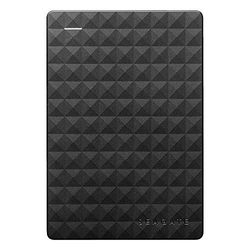 Seagate STEA1000400 Expansion - Disco duro externo portátil de 1 TB para PC con USB 3.0, negro