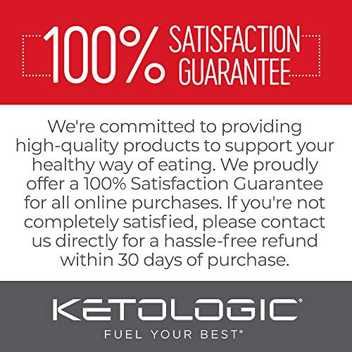 KetoLogic BHB Exogenous Ketones Powder with Caffeine (30 Servings) - Keto Pre-Workout, Boosts Ketosis, Energy & Focus - Support Keto Diet with Beta-Hydroxybutyrate Keto BHB Salts - Blueberry Acai 7