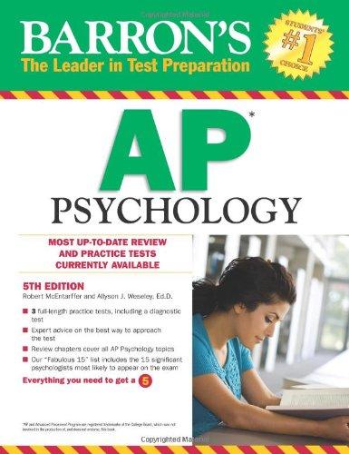 Barron's AP Psychology (Barron's Study Guides)