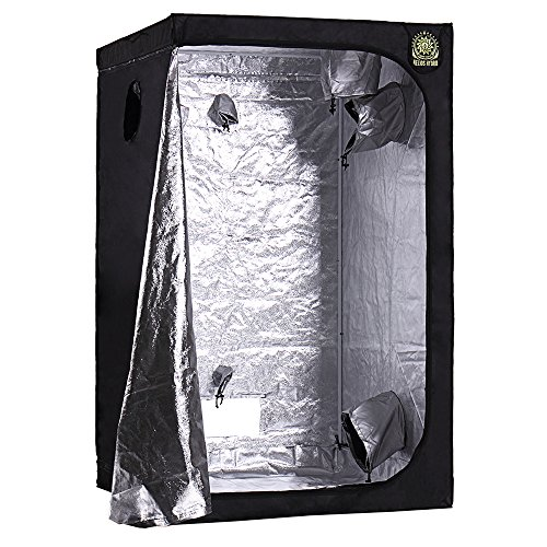 Helios 48' x 48' x 80' Grow Tent – Indoor Mylar Hydroponic Plant Growing Room