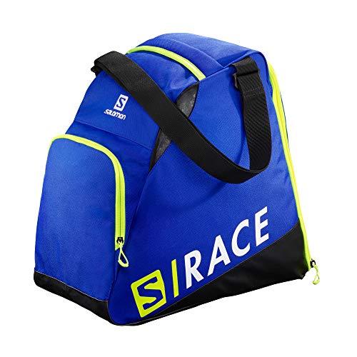 SALOMON Extend Gearbag, Sacca Portascarponi da Sci Pratica e Spaziosa, LC1170000 Unisex Adulto, Blu (Race Blue)/Giallo Neon (Neon Yellow Scfl), Taglia Unica